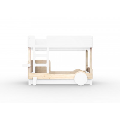 Bunk Bed Discovery | Brut & White