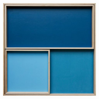 Display-Set-Sortiment - Blau