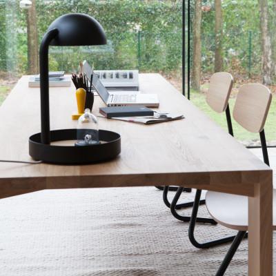 Full Moon Table Lamp | Black