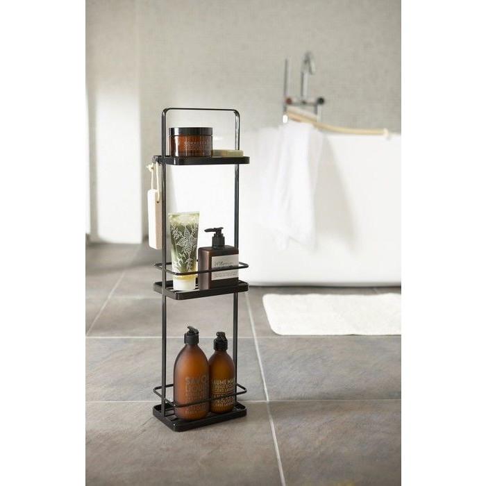 Dispenser Stand Long Tower | Black