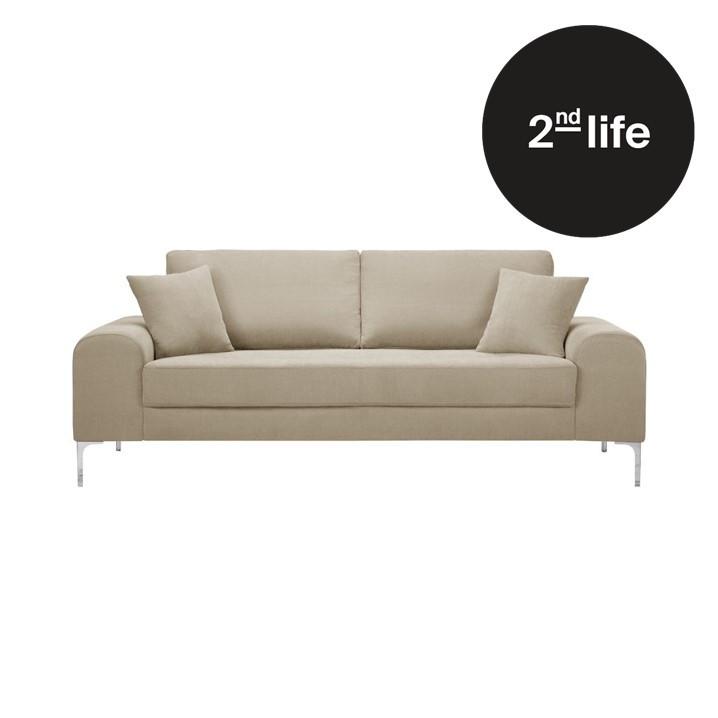 2nd Life | 3 Seater Sofa Dillinger | Beige