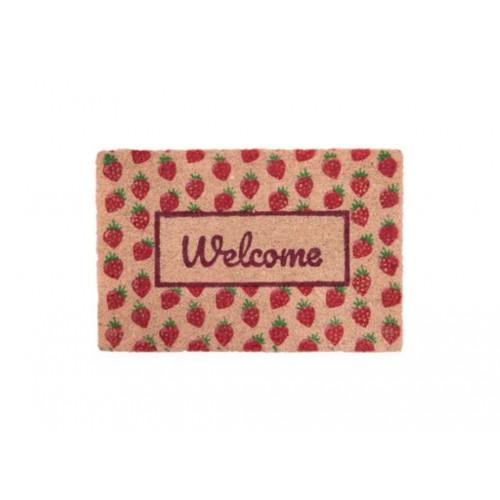 Fußmatte 'Welcome-Strawberries'