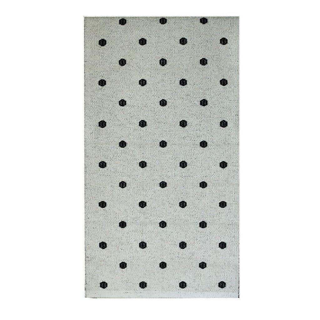 Black Dot Rug