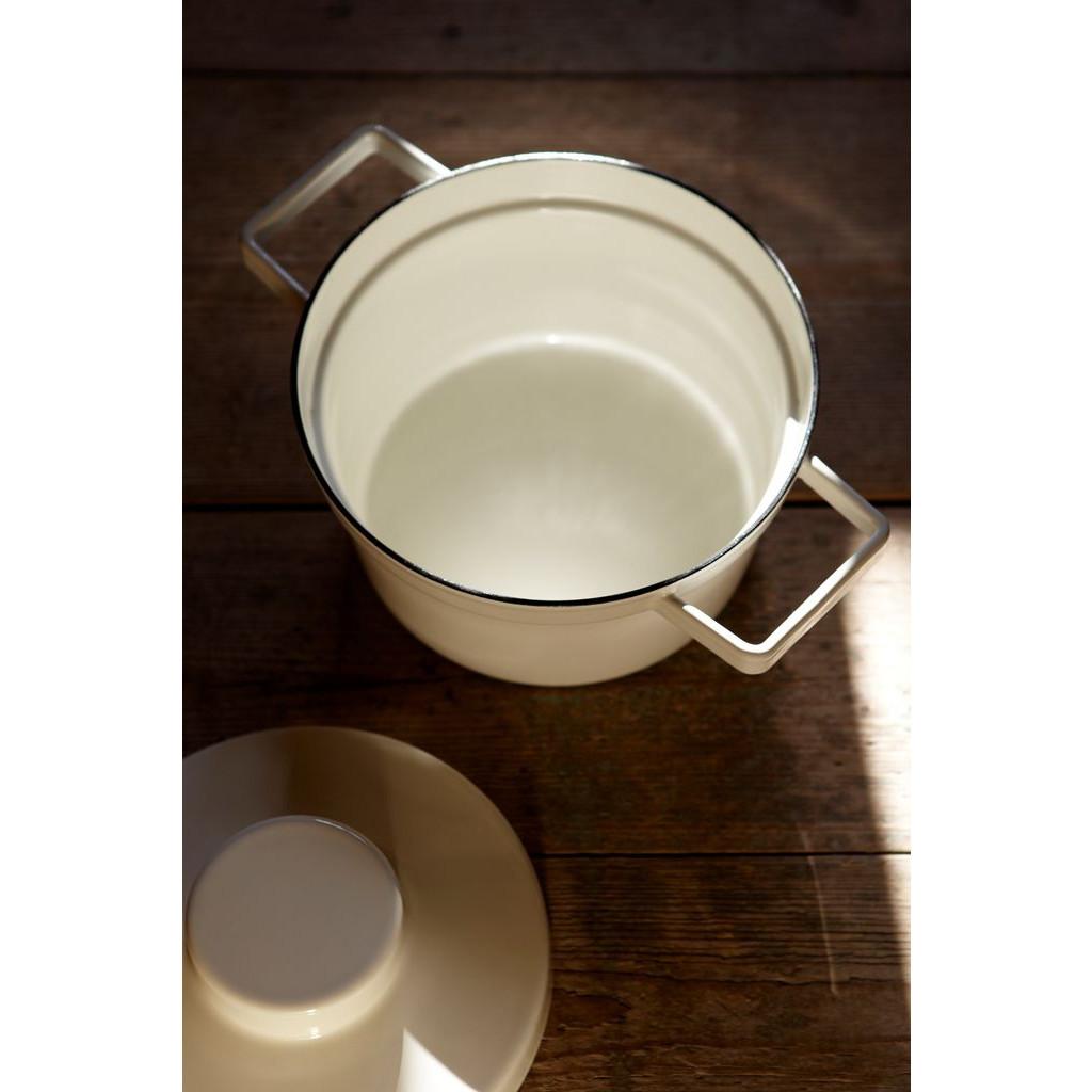Aromapot Light Grey   Pan with Lid
