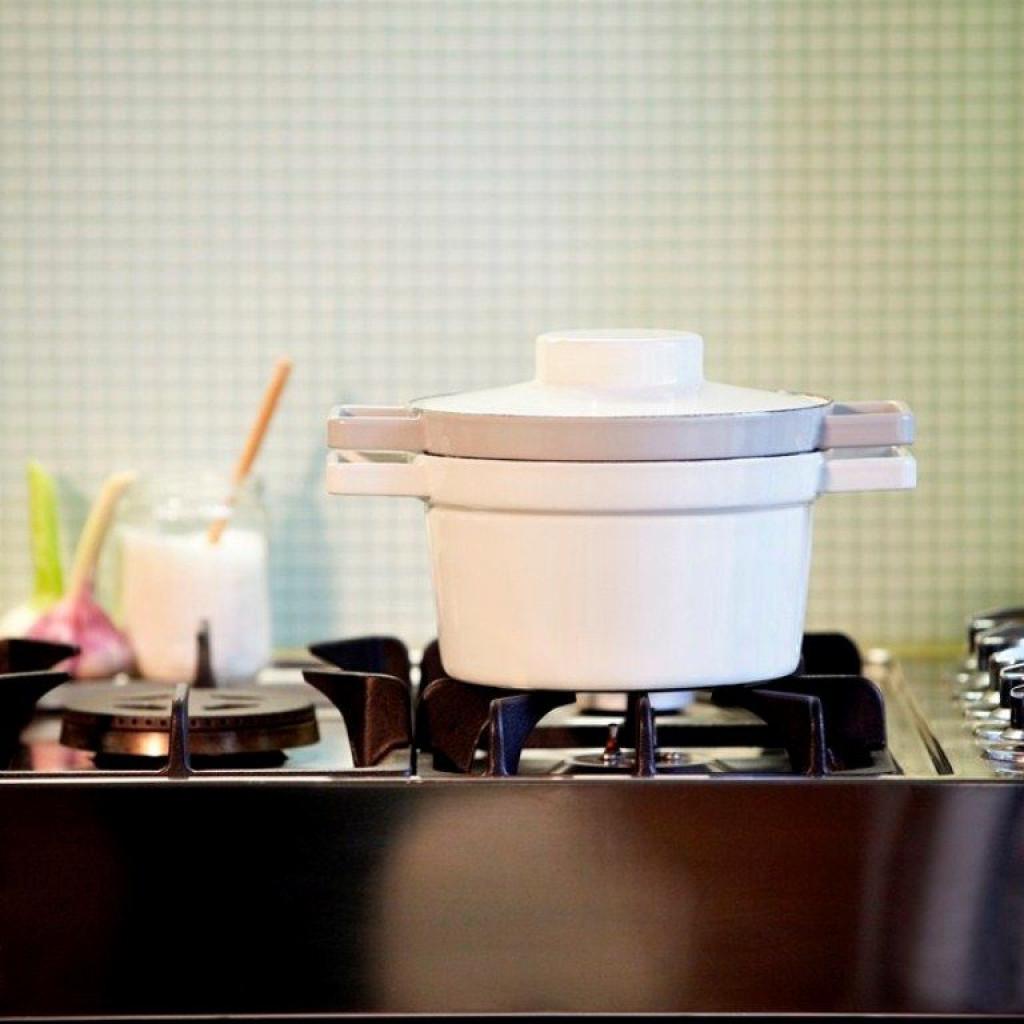Aromapot Light Grey | Casserole Dish with Lid