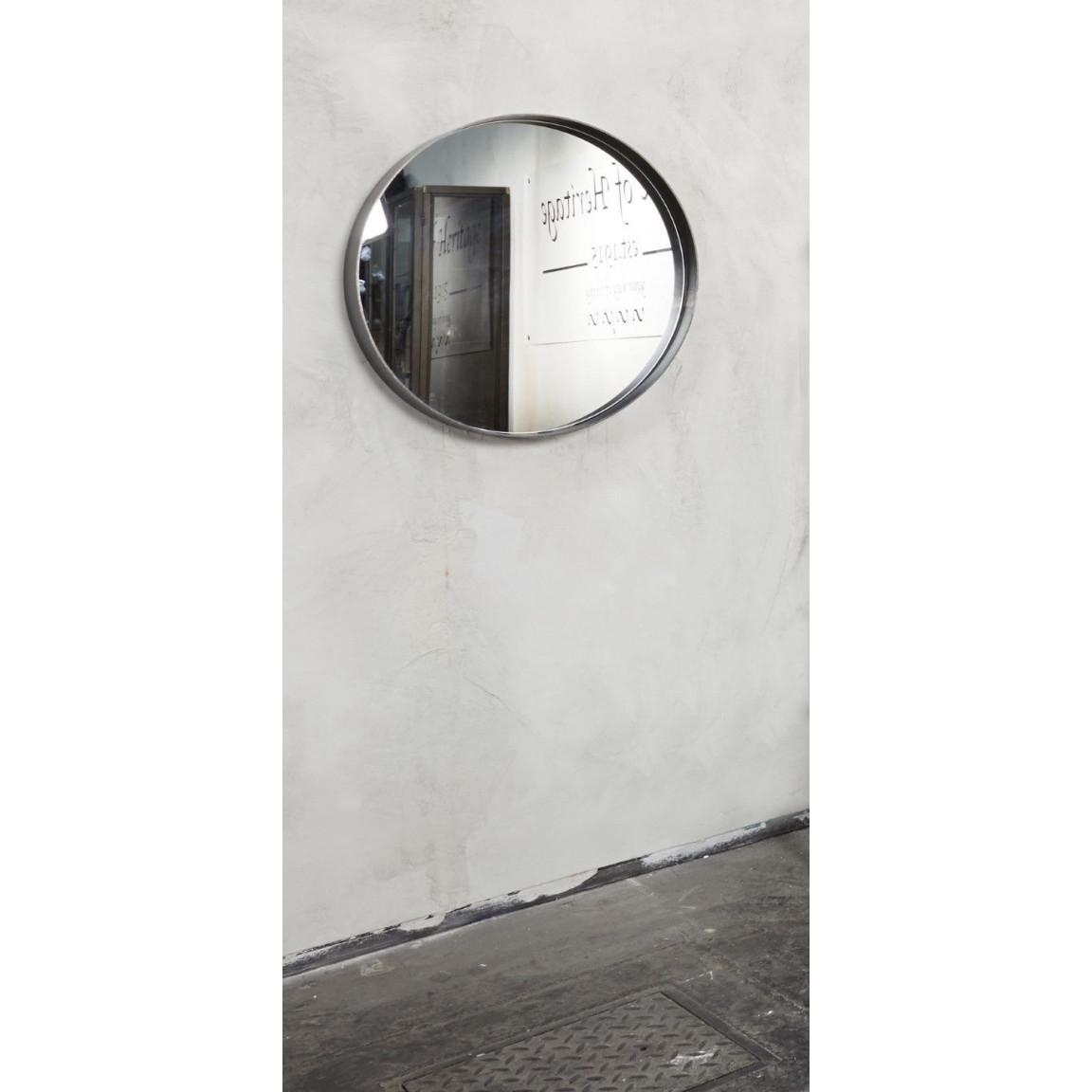 Round Mirror Donna 3 | Black
