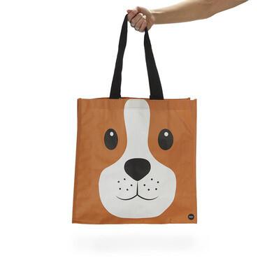 Einkaufstasche Woof | Braun