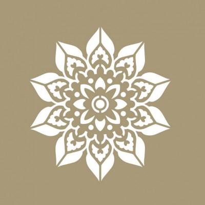Schablone Mandala   Doily
