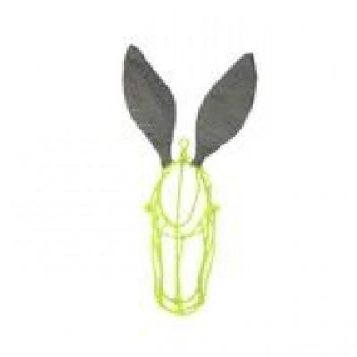 Wire Donkey | Lemon Face & Smokey ears