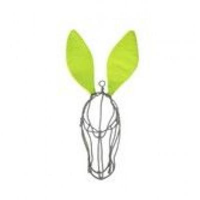 Wire Donkey | Smokey Face & Lemon ears