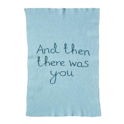 Und dann war da noch Ihre Minidecke | Blau