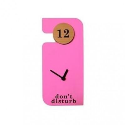Don't Disturb Uhr | Rosa