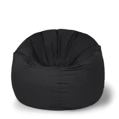 Outdoor Sitzsack Donut Plus | Schwarz