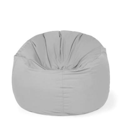 Outdoor Sitzsack Donut Plus | Cool Grau