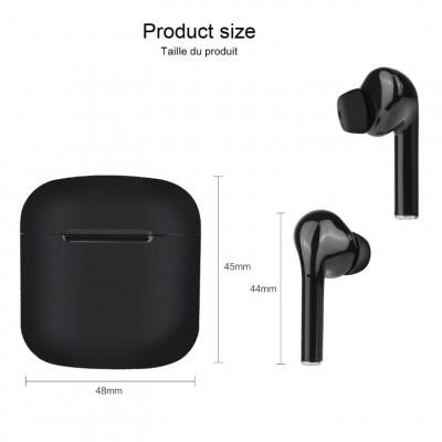 Drahtlose Touch-Kopfhörer + Mikrofon | Schwarz