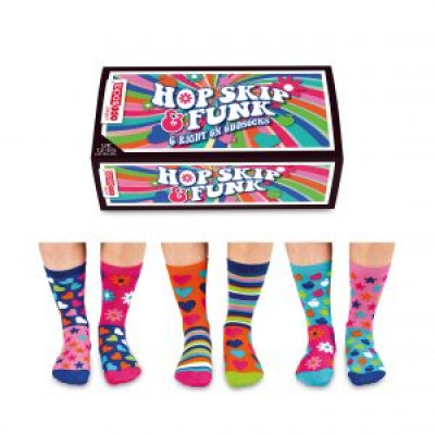 Socks Hop Hop Skip Funk | 6er-Satz