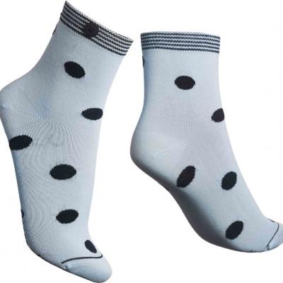 Damen-Socken Dotty   Blau