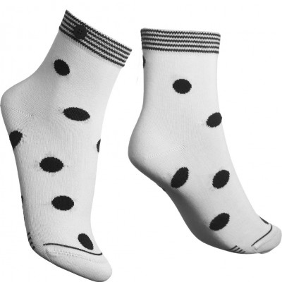 Damen-Socken Dotty   Weiß