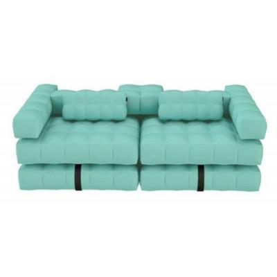Double Lounger | Aquamarine Green