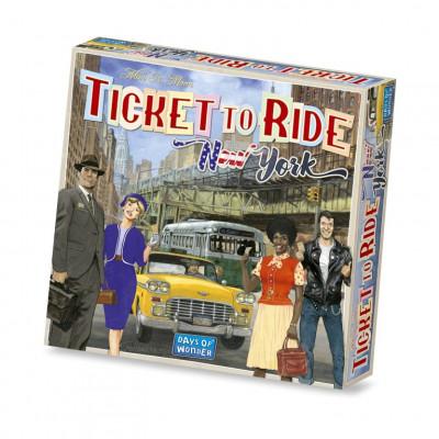 Brettspiel   Ticket to Ride New York