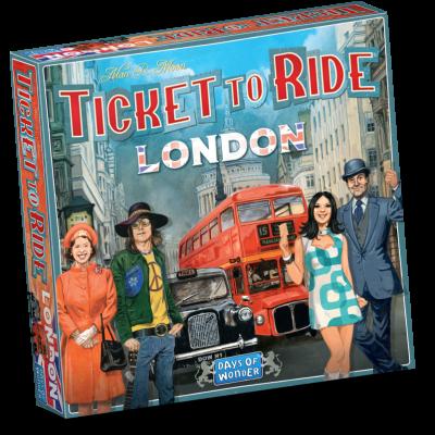Brettspiel   Fahrkarte für London