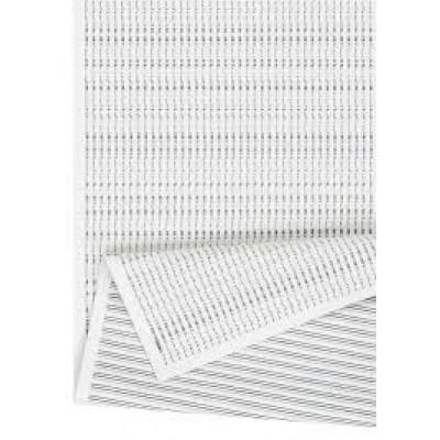 Doppelseitiger Teppich Esna | Weiß