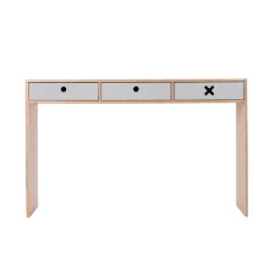 Schreibtisch Groß | Grau
