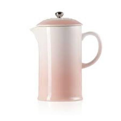Kaffeekanne mit Presse | 0,8 L | 22 cm | Rosa