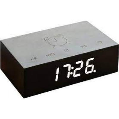 Kipp-Klick-Uhr   Schwarz