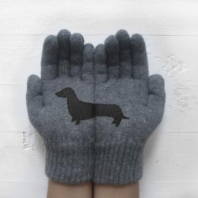 Handschuhe Doxie   Stahlgrau