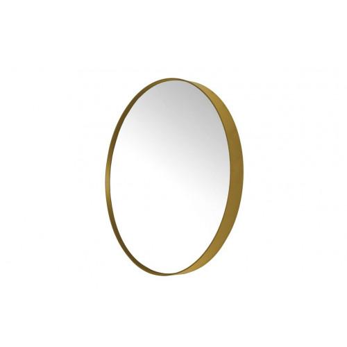 Round Mirror Donna 3   Gold