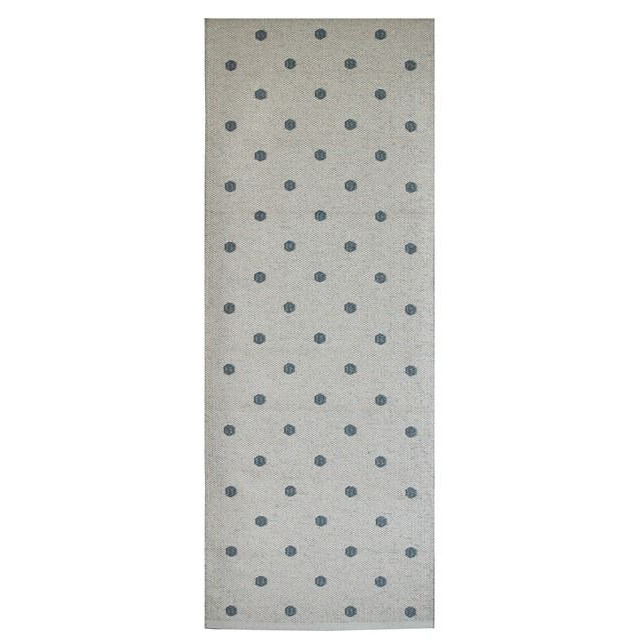 Grey Dot Rug