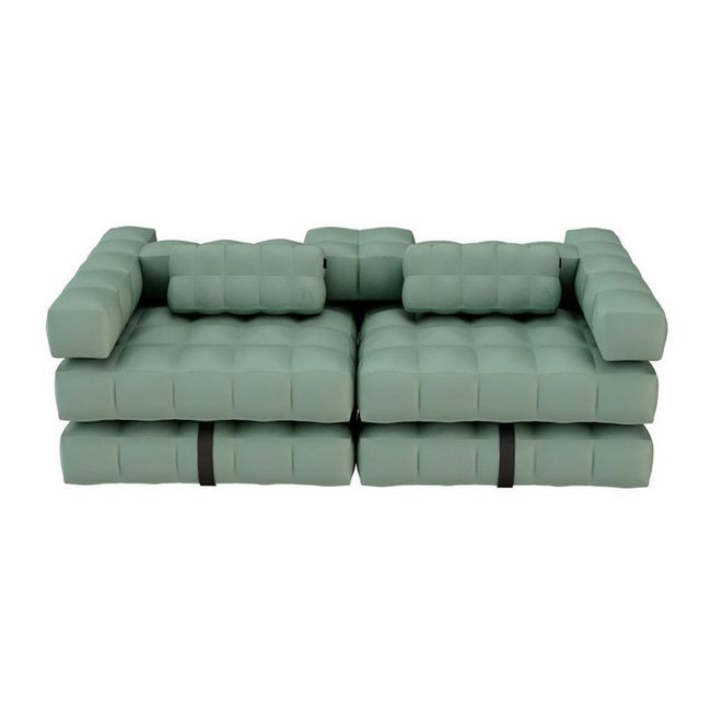 Double Lounger | Olive Green