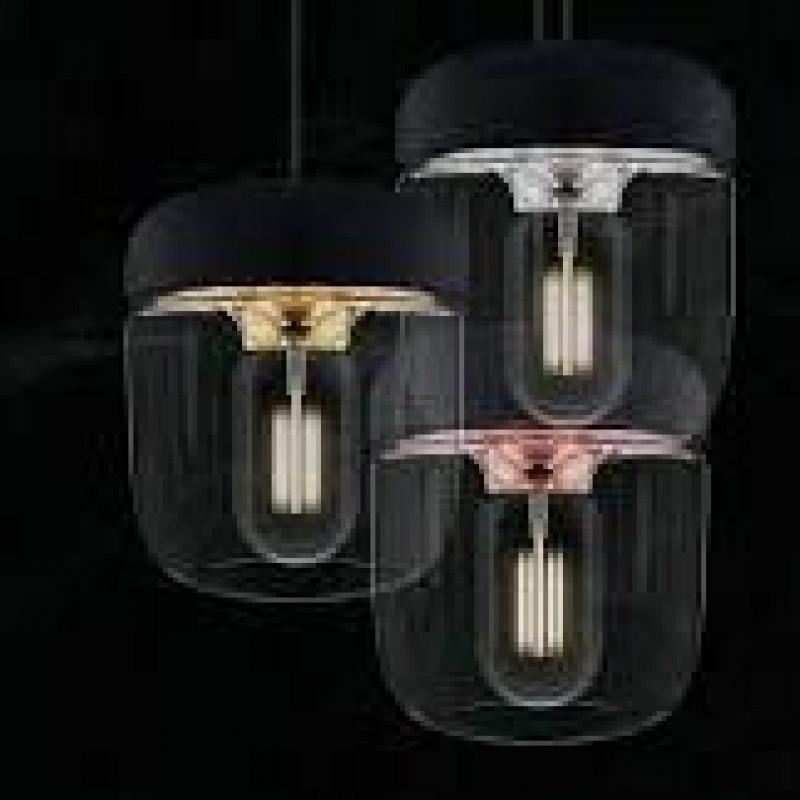 Lampenschirm Acorn   Schwarzes poliertes Kupfer