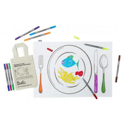 Doodle-Platzhalter zum Mitnehmen (Doodle Placemat To Go)
