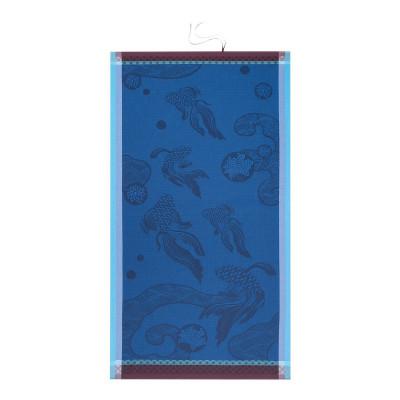 Strandtuch Oceanique Abyss 200 x 100 cm | Blau