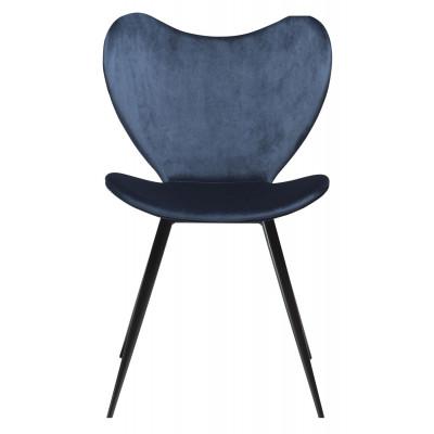 Stuhl Dreamer Velvet | Blau
