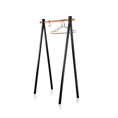 Dress Up Garment Rack Black/Orange