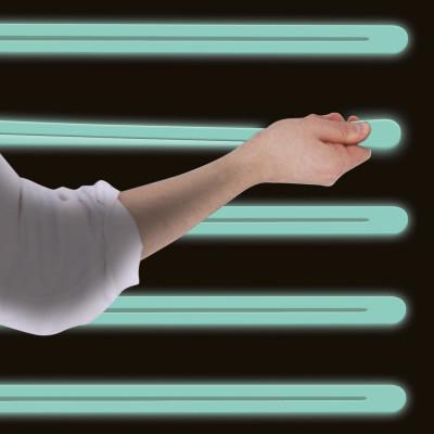 Elastisches Band | Leuchten im Dunkelblau