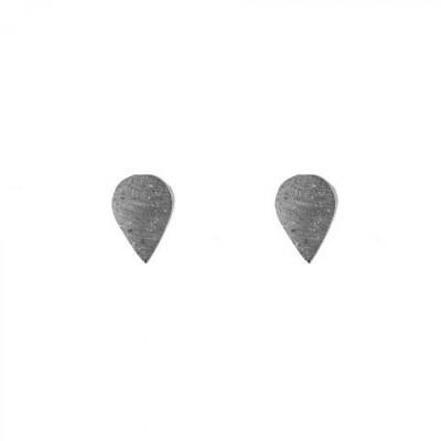 Ohrringe DROP | Grau