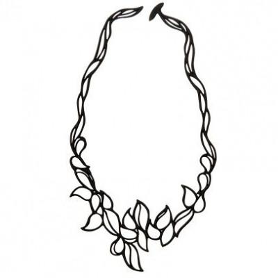 Necklace Drops | Black