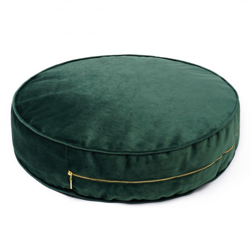 Pouf Velvet 60 cm | Green