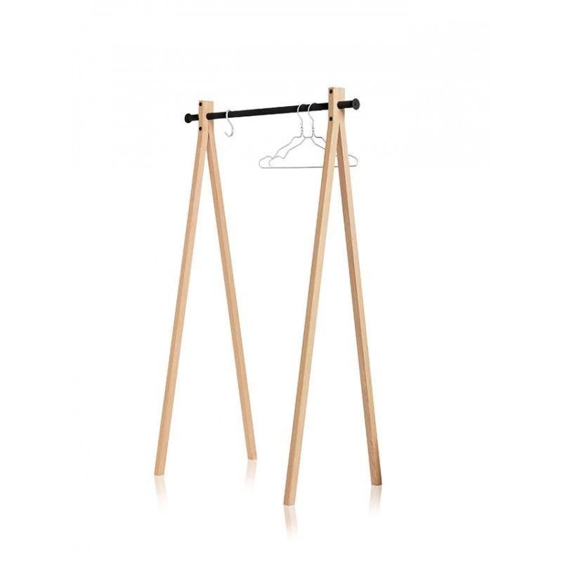 Garment Rack Dress Up Natural/Black