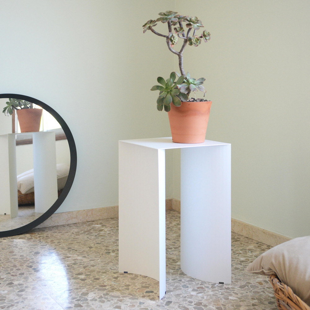 Side Table Arc | White