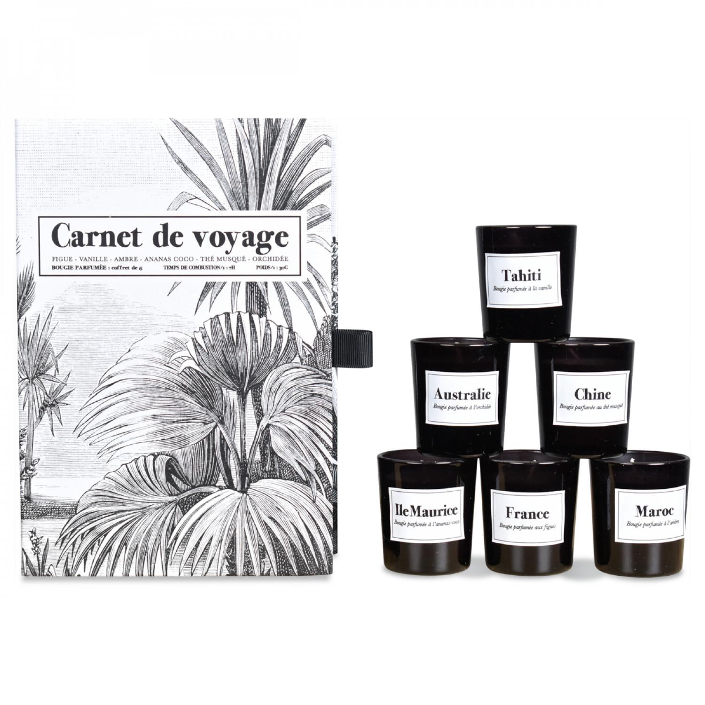 Duftkerze Carnet de Voyage | 6er-Set