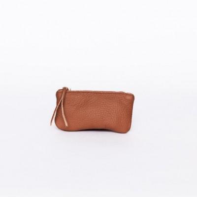 Glossy Wallet   Terra Brown