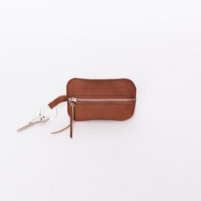 Magni Key Wallet   Terra Brown