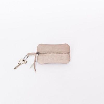 Magni Key Wallet   Tortora Taupe
