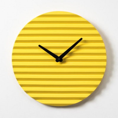 WaveCLOCK Yellow