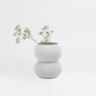 Vase 3D   Weiß